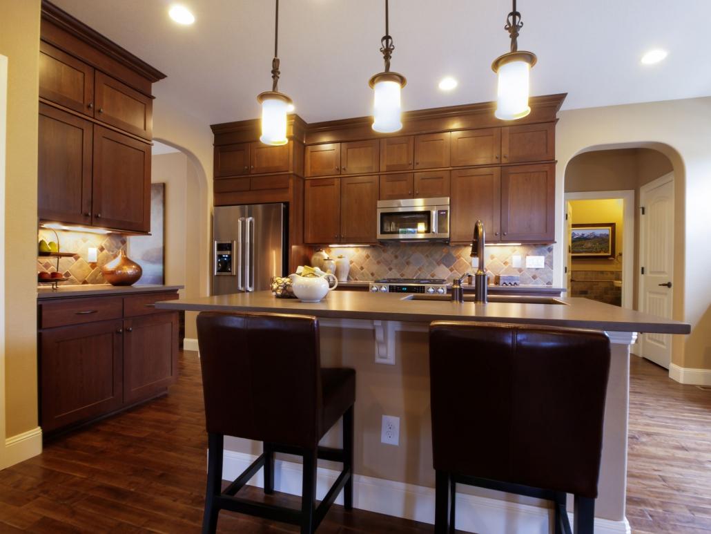 kuchnia drewniane fronty