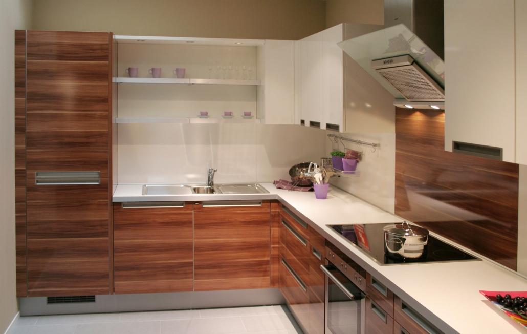nowoczesna kuchnia drewniane fronty